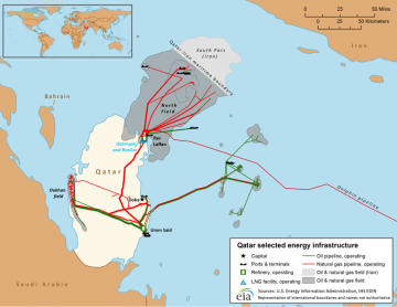 qatar energy_infrastructure_map