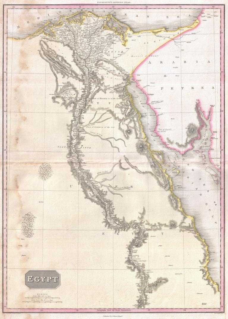 1818_Pinkerton_Map_of_Egypt_-_Geographicus_-_Egypt-pinkerton-1818